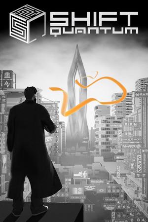 Shift Quantum - A Cyber Noir Puzzle Platformer poster image on Steam Backlog