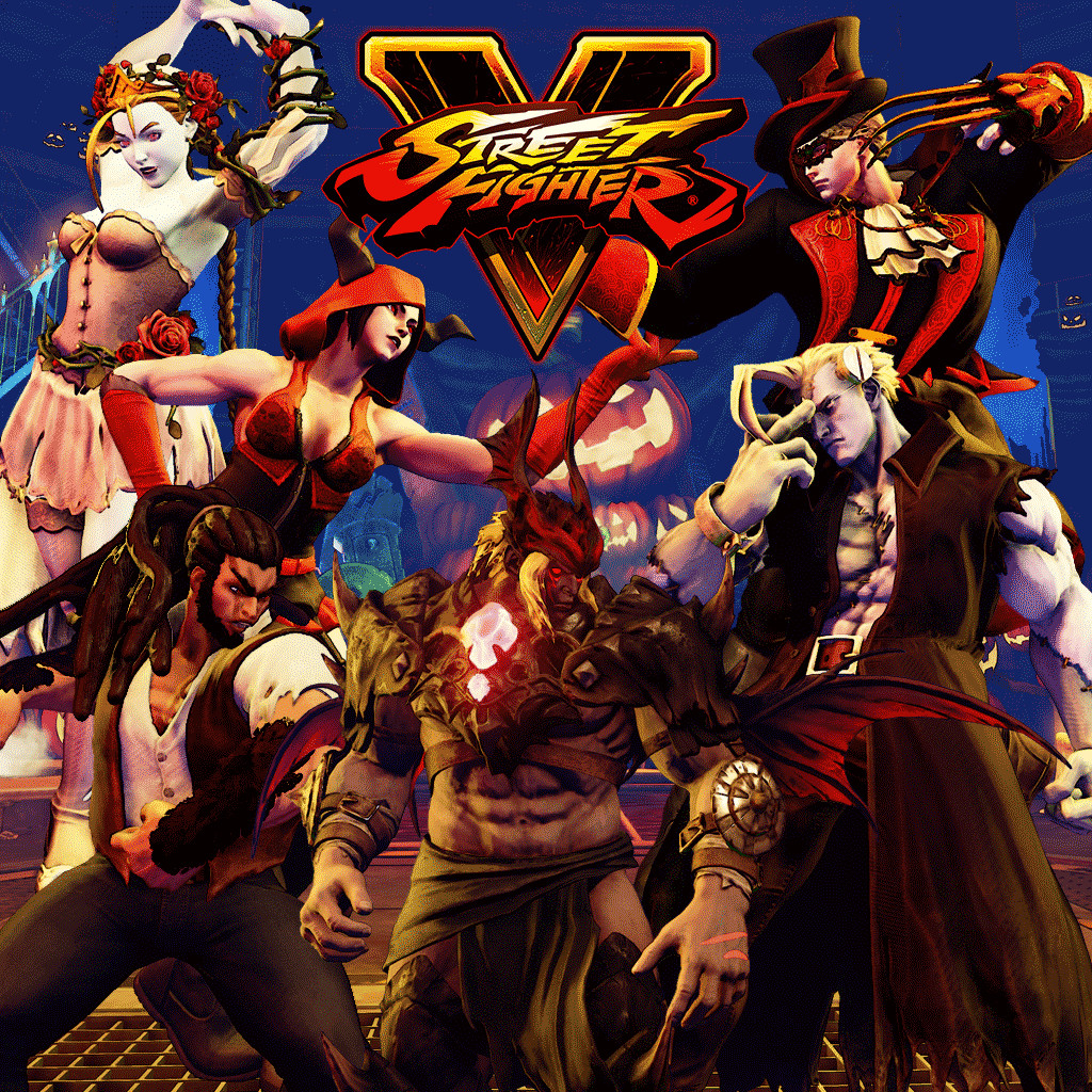 Street Fighter V   2016 Halloween Costume Bundle