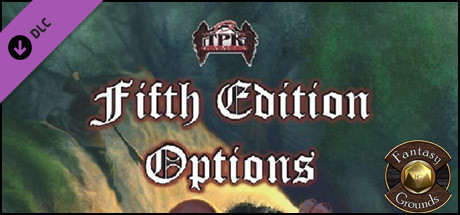 Fantasy Grounds - Fifth Edition Options (5E)