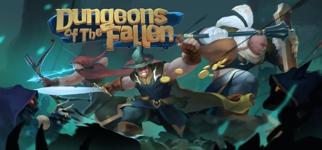 Dungeons of the Fallen cover art