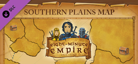 Eight-Minute Empire: Southern Plains Map