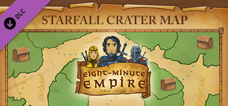 Eight-Minute Empire: Starfall Crater Map