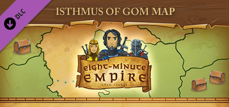 Eight-Minute Empire: Isthmus of Gom Map