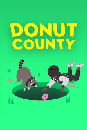 Donut County poster image on Steam Backlog