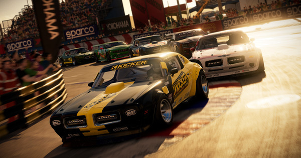 скриншот Race Driver: GRID (2008) 0