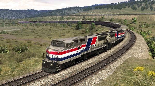 скриншот Train Simulator: Raton Pass: Trinidad - Raton Route Add-On 1