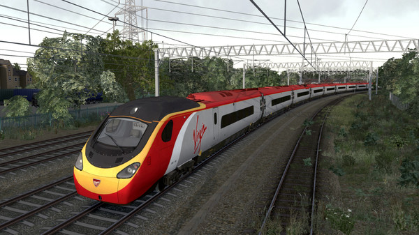 скриншот Train Simulator: Virgin Trains BR Class 390 'Pendolino' EMU 4
