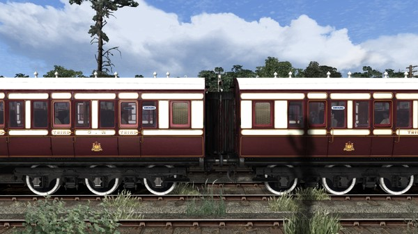 скриншот TS Marketplace: Caledonian Railway 65ft Grampian Coach Pack Add-On 3