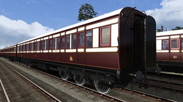 скриншот TS Marketplace: Caledonian Railway 65ft Grampian Coach Pack Add-On 0