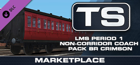 TS Marketplace: LMS Period 1 Non-Corridor Coach Pack BR Crimson