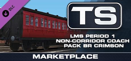 TS Marketplace: LMS Period 1 Non-Corridor Coach Pack BR Crimson