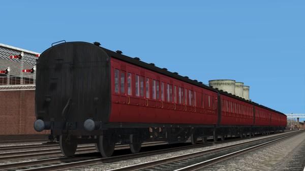 скриншот TS Marketplace: LMS Period 1 Non-Corridor Coach Pack BR Maroon 0