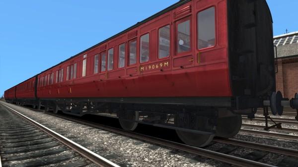 скриншот TS Marketplace: LMS Period 1 Non-Corridor Coach Pack BR Maroon 3