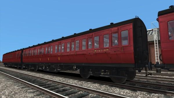 скриншот TS Marketplace: LMS Period 1 Non-Corridor Coach Pack BR Maroon 1