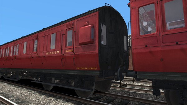 TS Marketplace: LMS Period 1 Non-Corridor Coach Pack BR Maroon (DLC)
