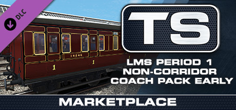 Купить TS Marketplace: LMS Period 1 Non-Corridor Coach Pack Early Add-On (DLC)
