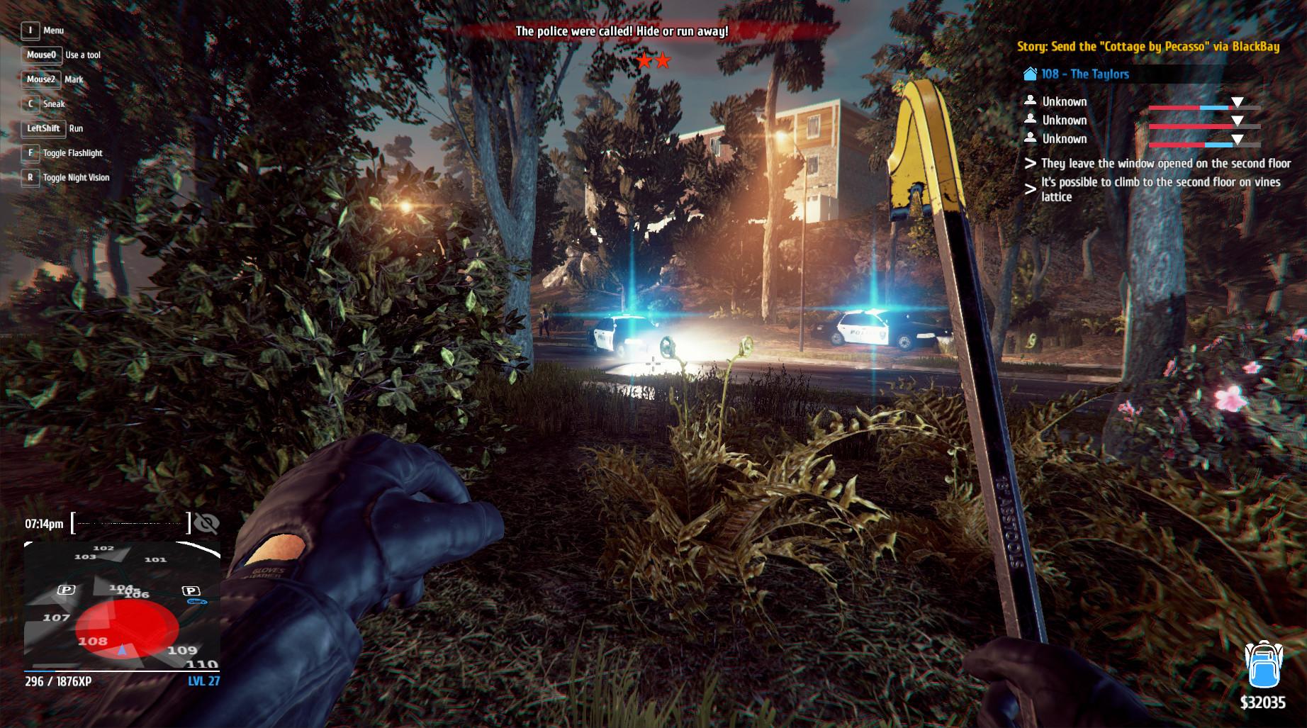 Скриншот Thief Simulator v1.2b скачать торрент бесплатно
