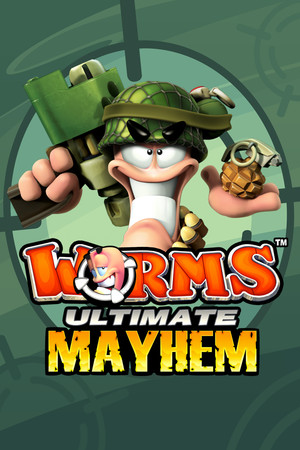 Worms Ultimate Mayhem poster image on Steam Backlog