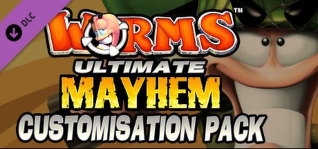 Купить Worms Ultimate Mayhem - Customization Pack DLC