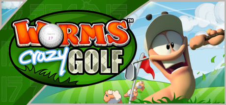 Worms Crazy Golf cover art