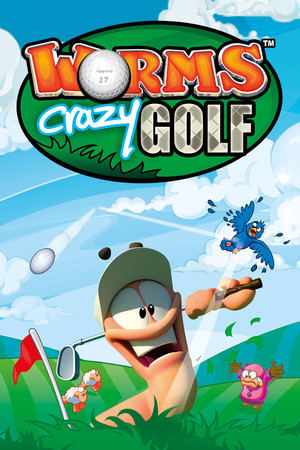 Worms Crazy Golf poster image on Steam Backlog