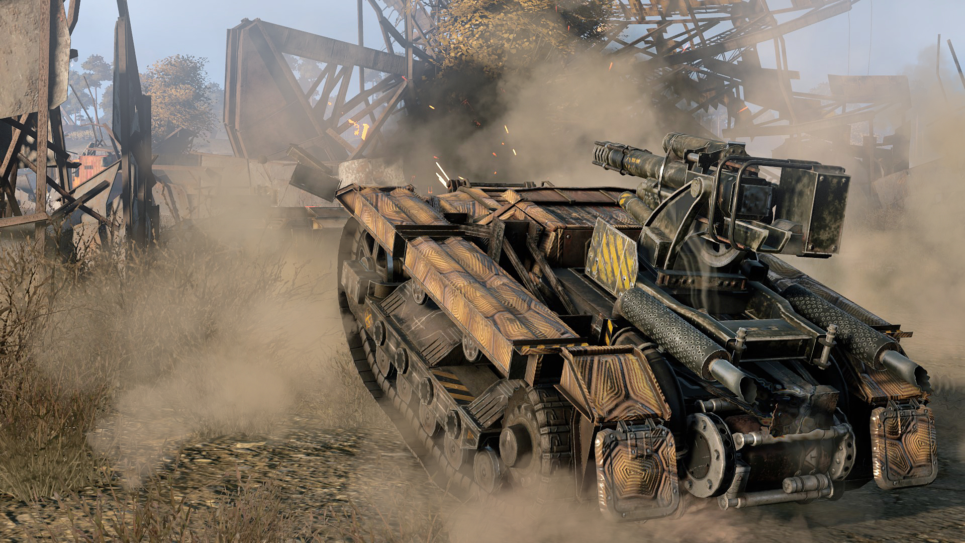 Crossout - The Tramp Pack - Keymailer