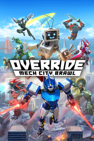 Override: Mech City Brawl poster image on Steam Backlog