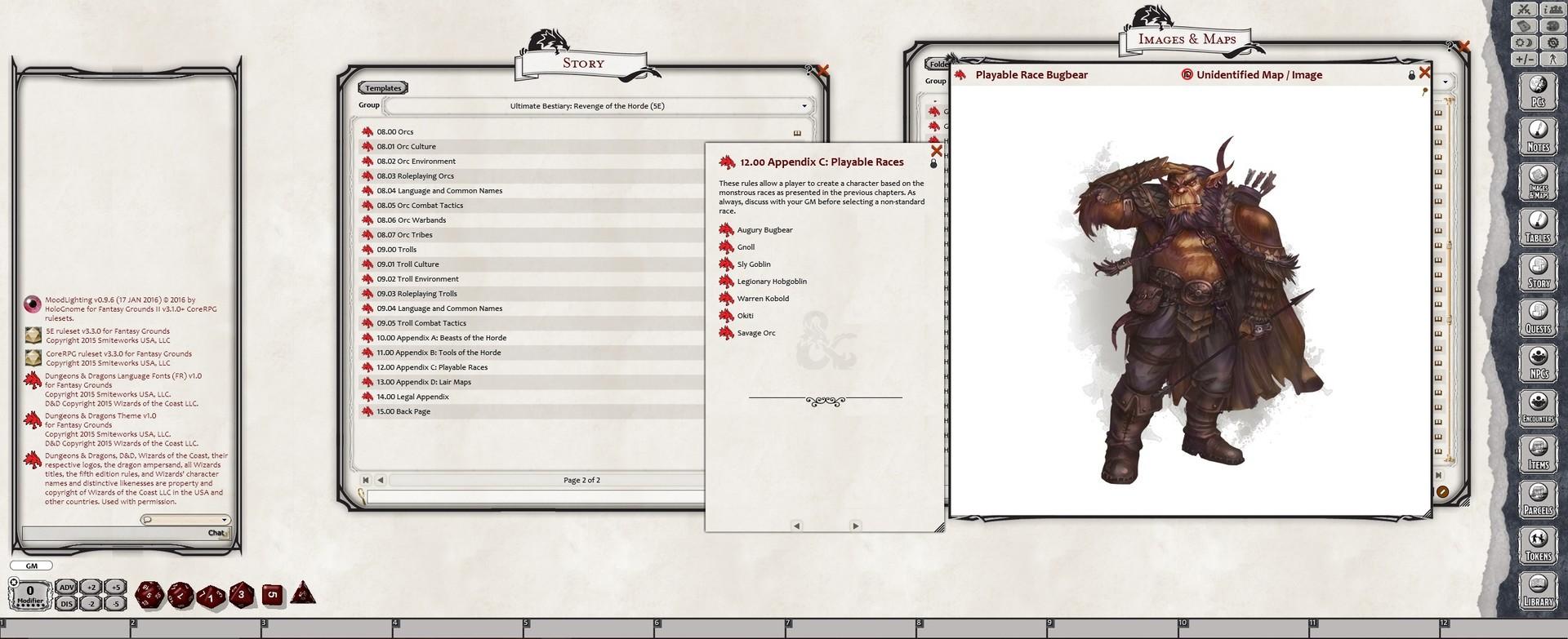 Fantasy Grounds - Ultimate Bestiary: Revenge of the Horde (5E)