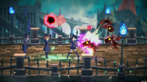 Screenshot of Little Witch Academia: Chamber of Time