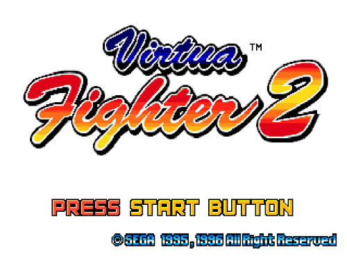 Virtua fighter 2 (windows) my abandonware.