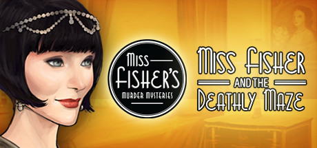 Miss Fisher and the Deathly Maze cover art