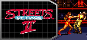 Streets of Rage 2 cover art