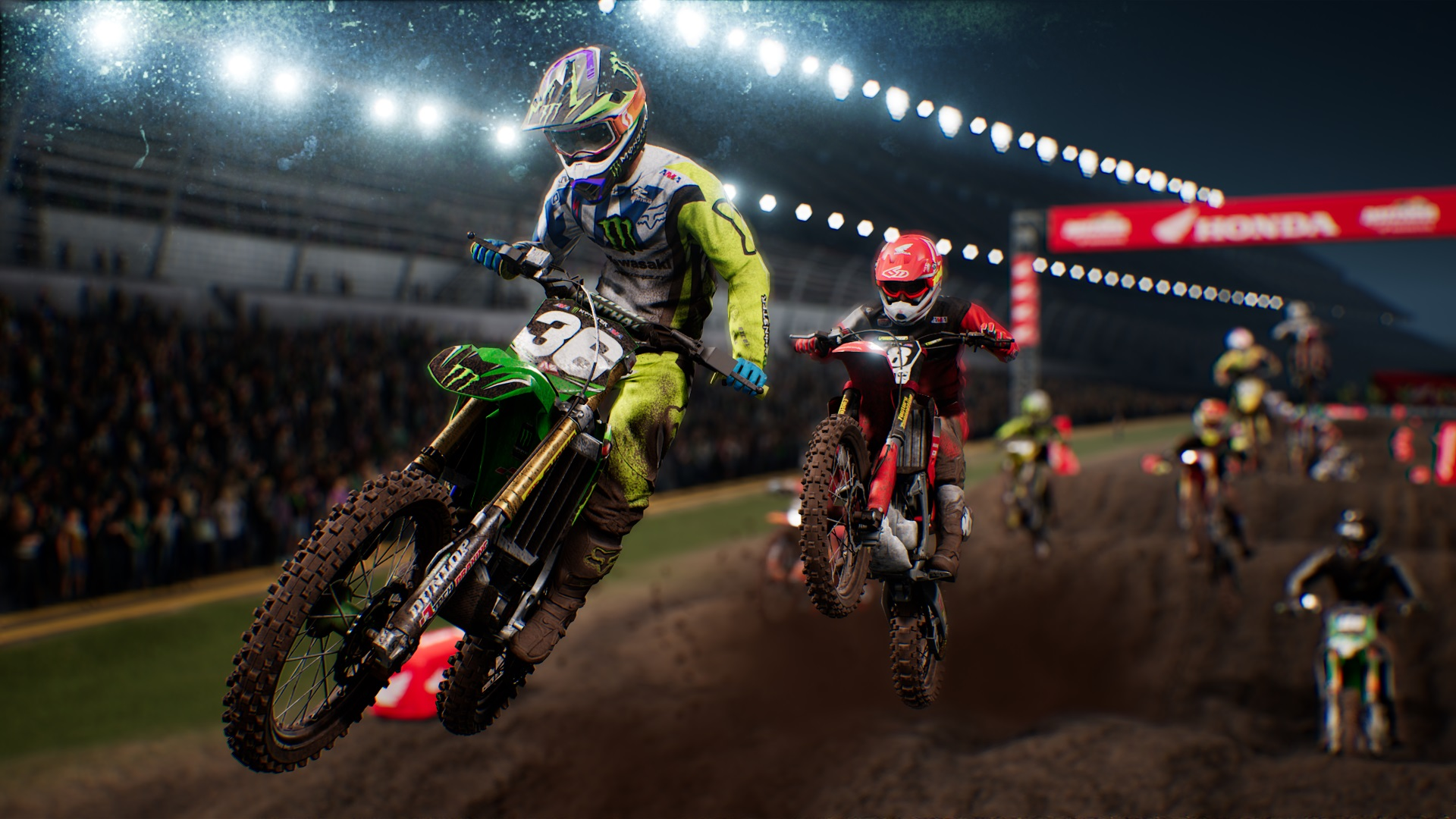 Monster Energy Supercross 2 Xbox One X Gameplay Review ...