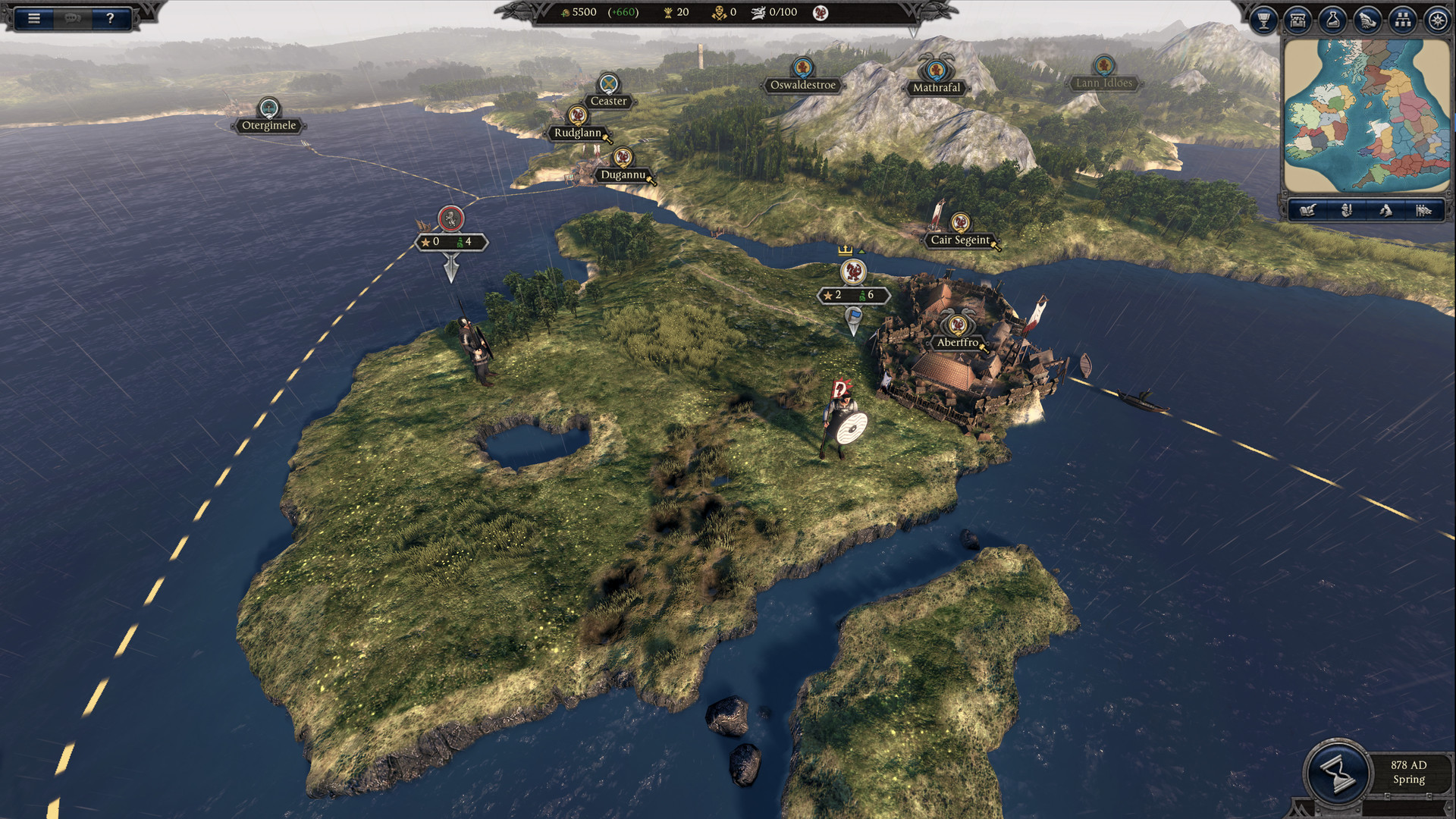 Total War Saga: Thrones of Britannia (SEGA) (RUS|ENG|Multi13) [SteamRip] vano_next