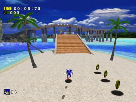 Screenshot of Sonic Adventure DX