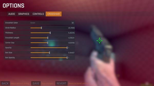 Скриншот из Aim Lab