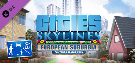 Cities: Skylines - Content Creator Pack: European Suburbia