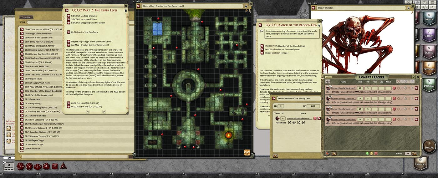 Fantasy Grounds - Pathfinder RPG - Crypt of the Everflame