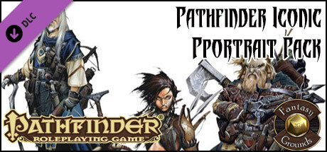 Fantasy Grounds - Pathfinder Iconic Portrait Pack (PFRPG)