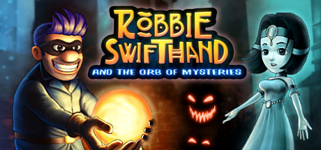 Robbie Swifthand and the Orb of Mysteries Capa