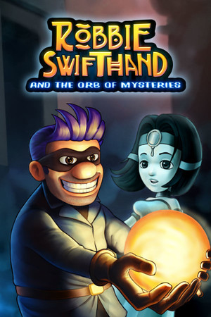 Robbie Swifthand and the Orb of Mysteries poster image on Steam Backlog