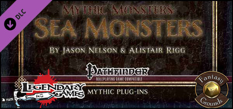 Fantasy Grounds - Mythic Monsters #10: Sea Monsters (PFRPG)