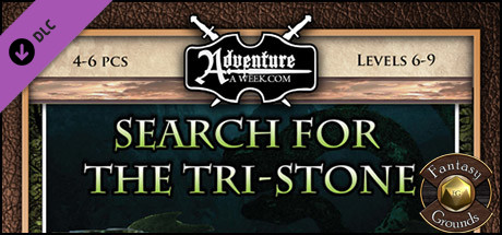 Fantasy Grounds - A08: Search for the Tri-Stone (5E)