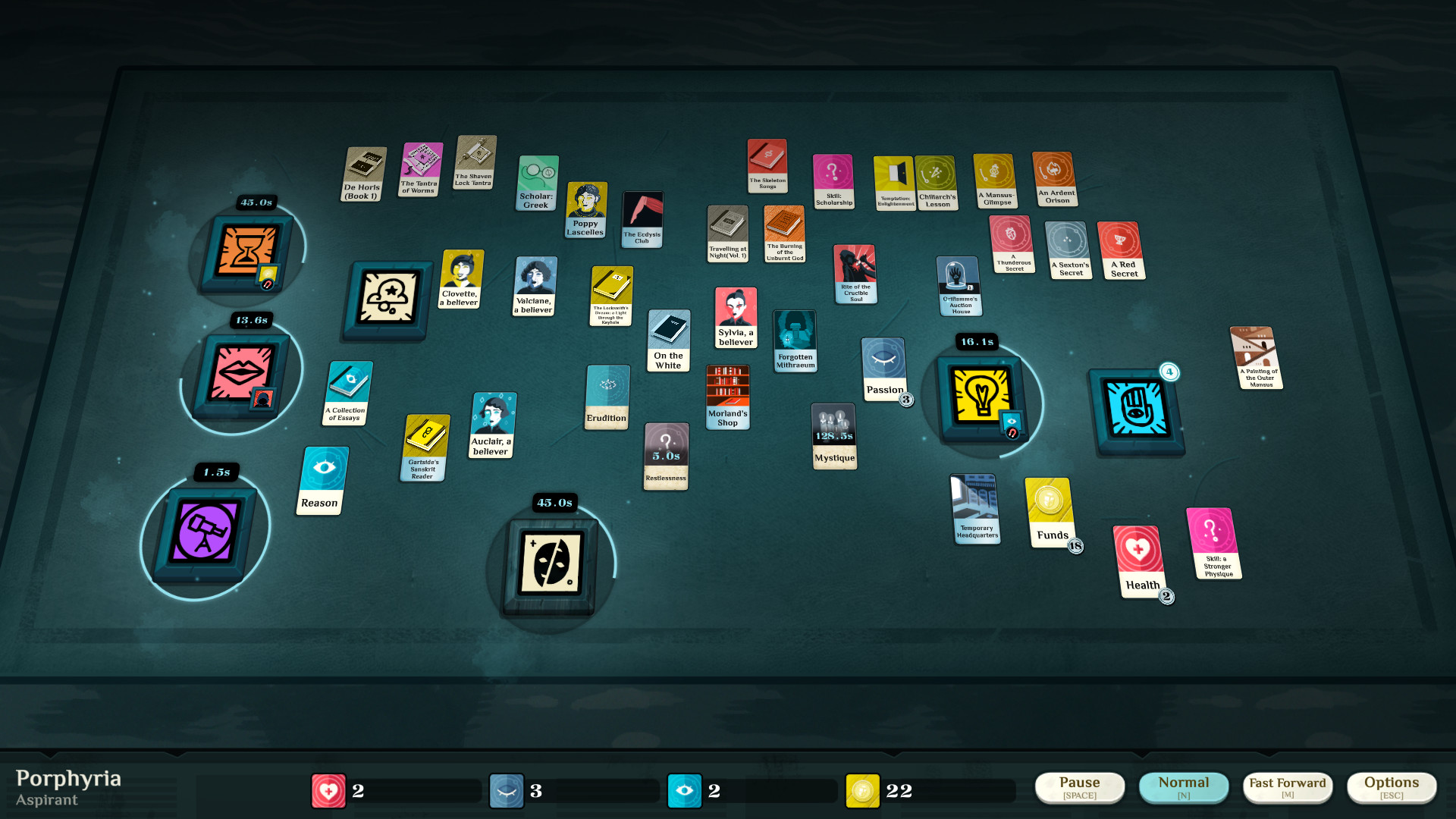 cultist simulator playfield