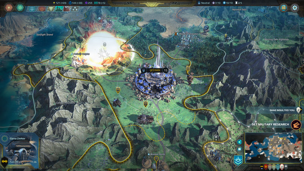 Age of Wonders Planetfall ScreenShot 1