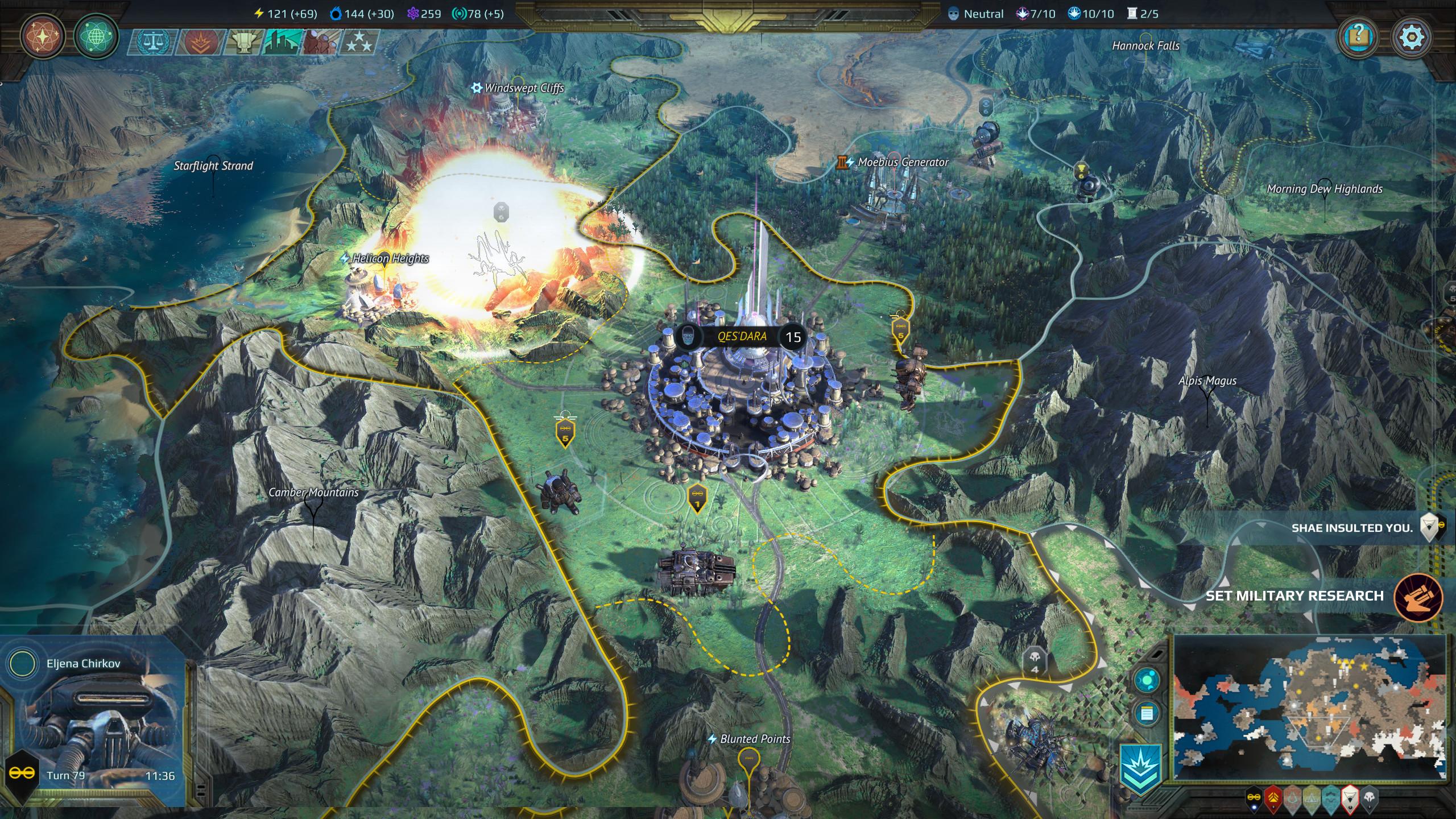 Age of Wonders: Planetfall · AppID: 718850