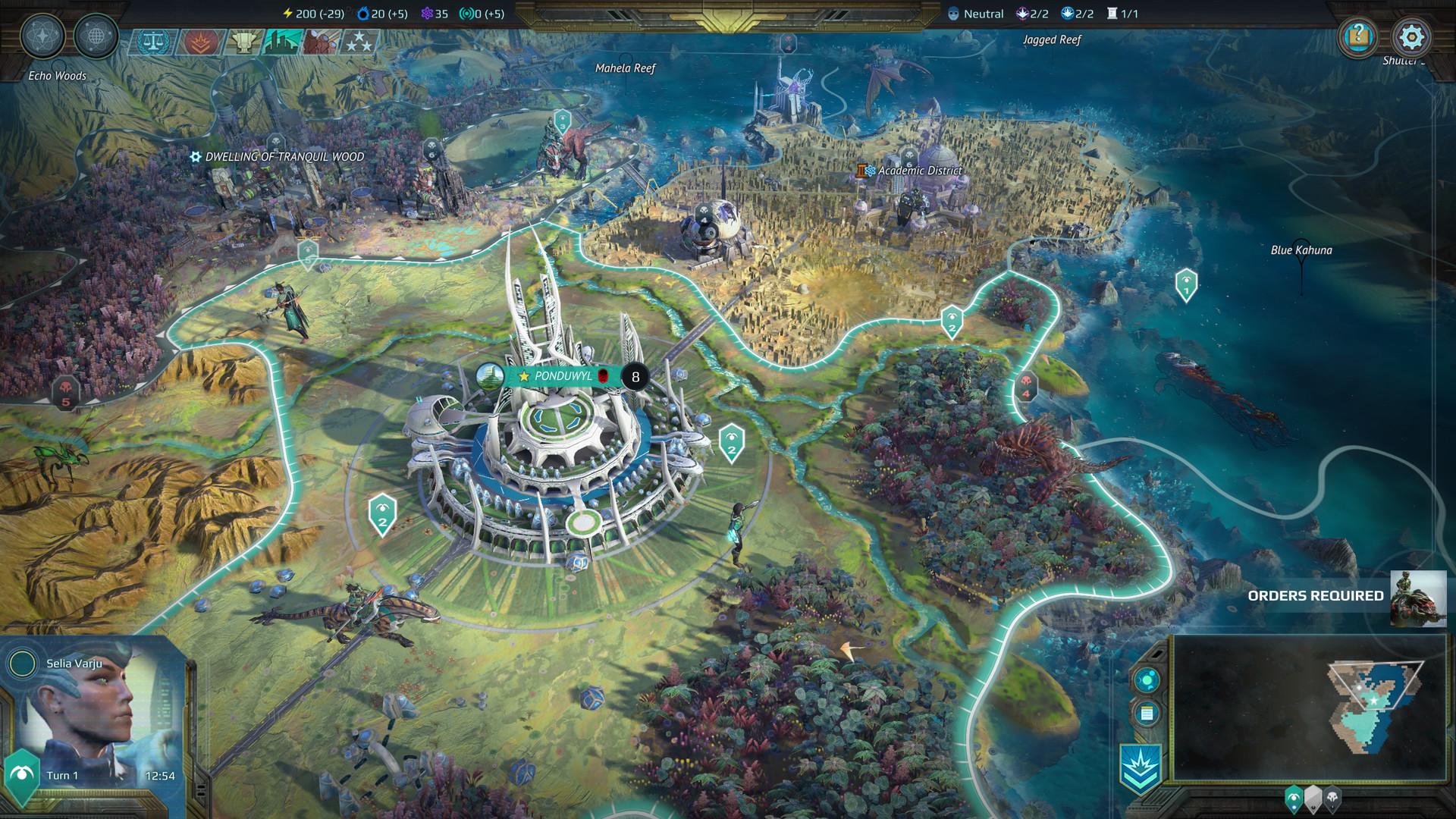 Age of Wonders: Planetfall Screenshot 1