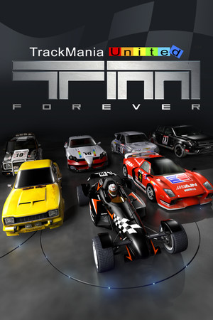 Trackmania United Forever poster image on Steam Backlog