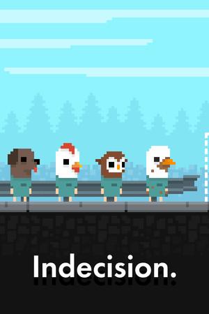 Indecision. poster image on Steam Backlog