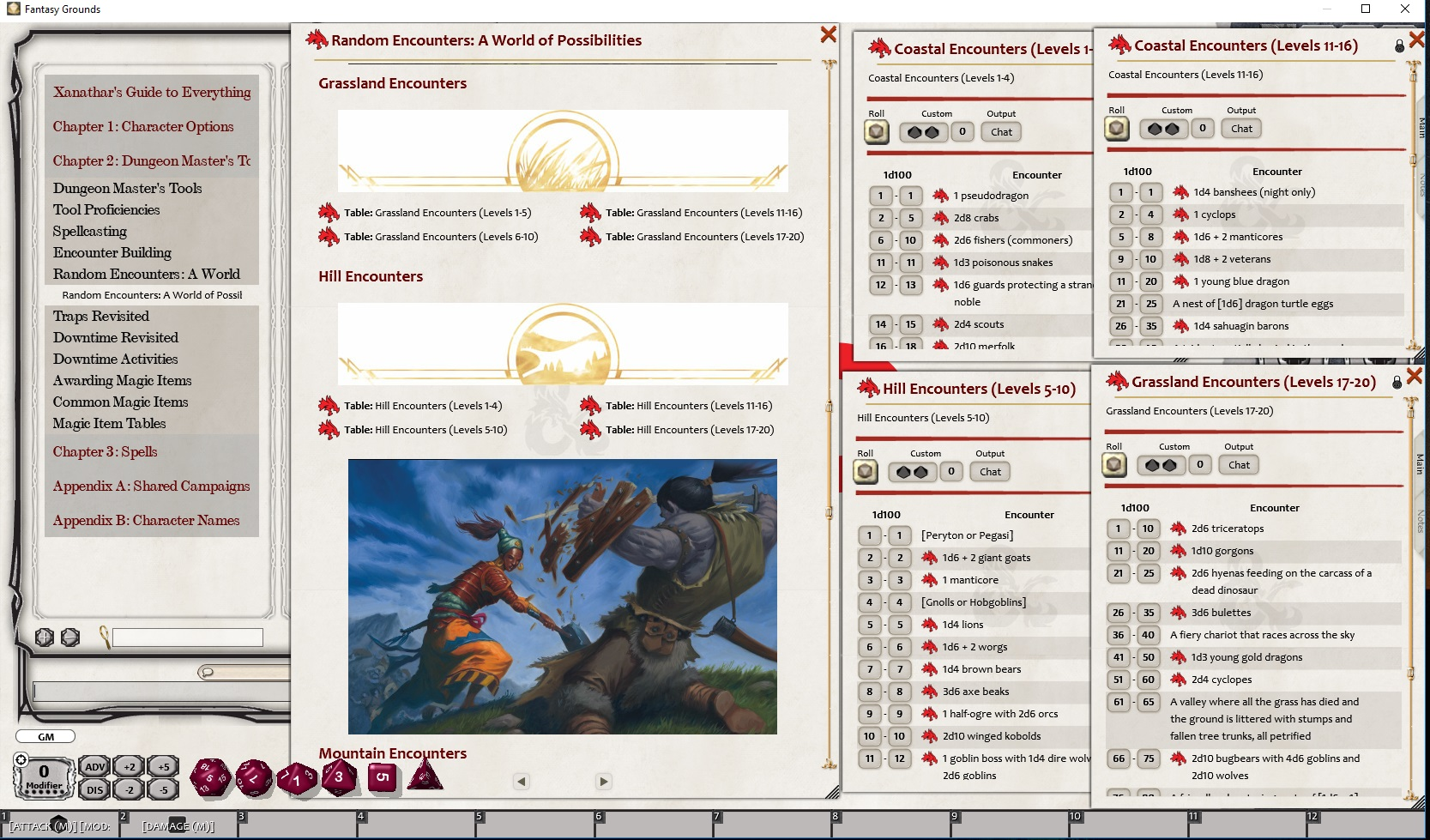Fantasy Grounds - D&D Xanathar's Guide to Everything